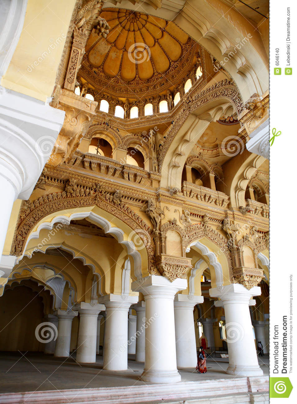 Ancient Palace Interior Stock Photo Image Of Building 6046140