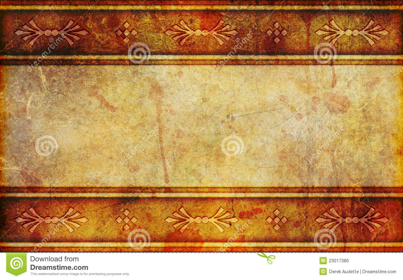 Ancient Paper Background With Design Patterns Stock Photo ...