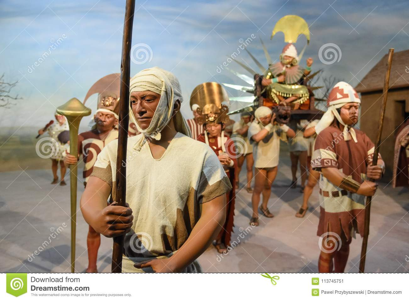Ancient Peruvian Elite, Priests and Lords Inca