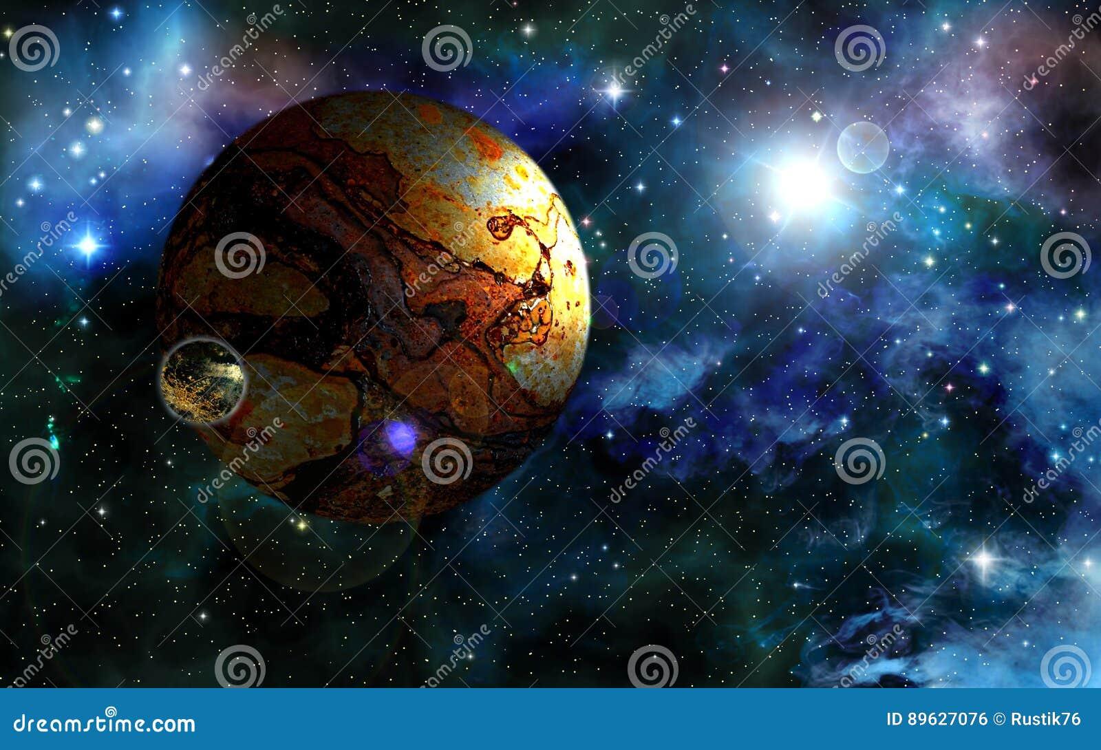 Ancient planet.