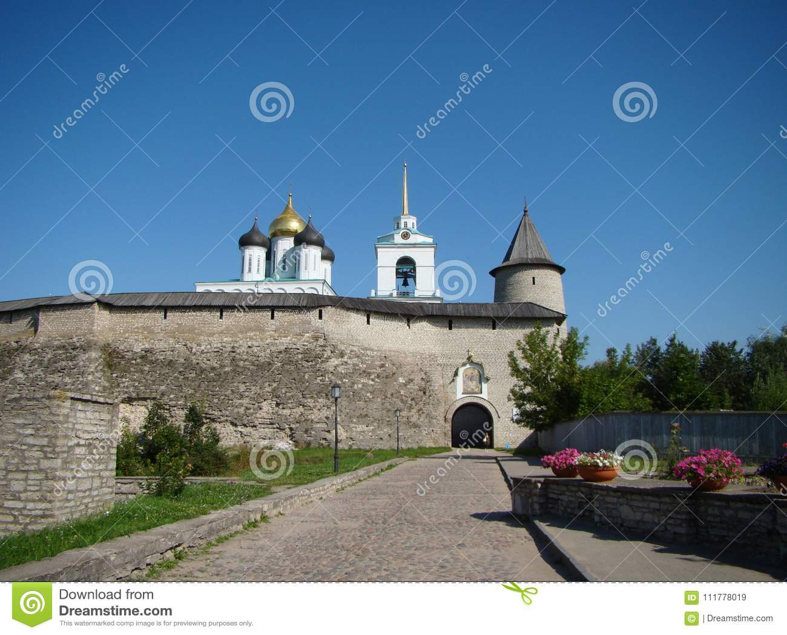Ancient Pskov Kremlin