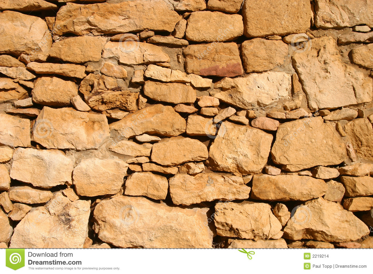 Ancient Rock Wall Background Image Stock Images - Image: 2219214
