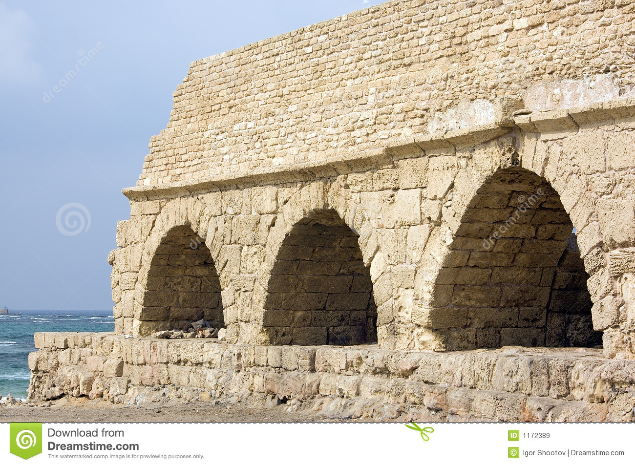 Ancient Roman Aqueduct Royalty Free Stock Images - Image ...