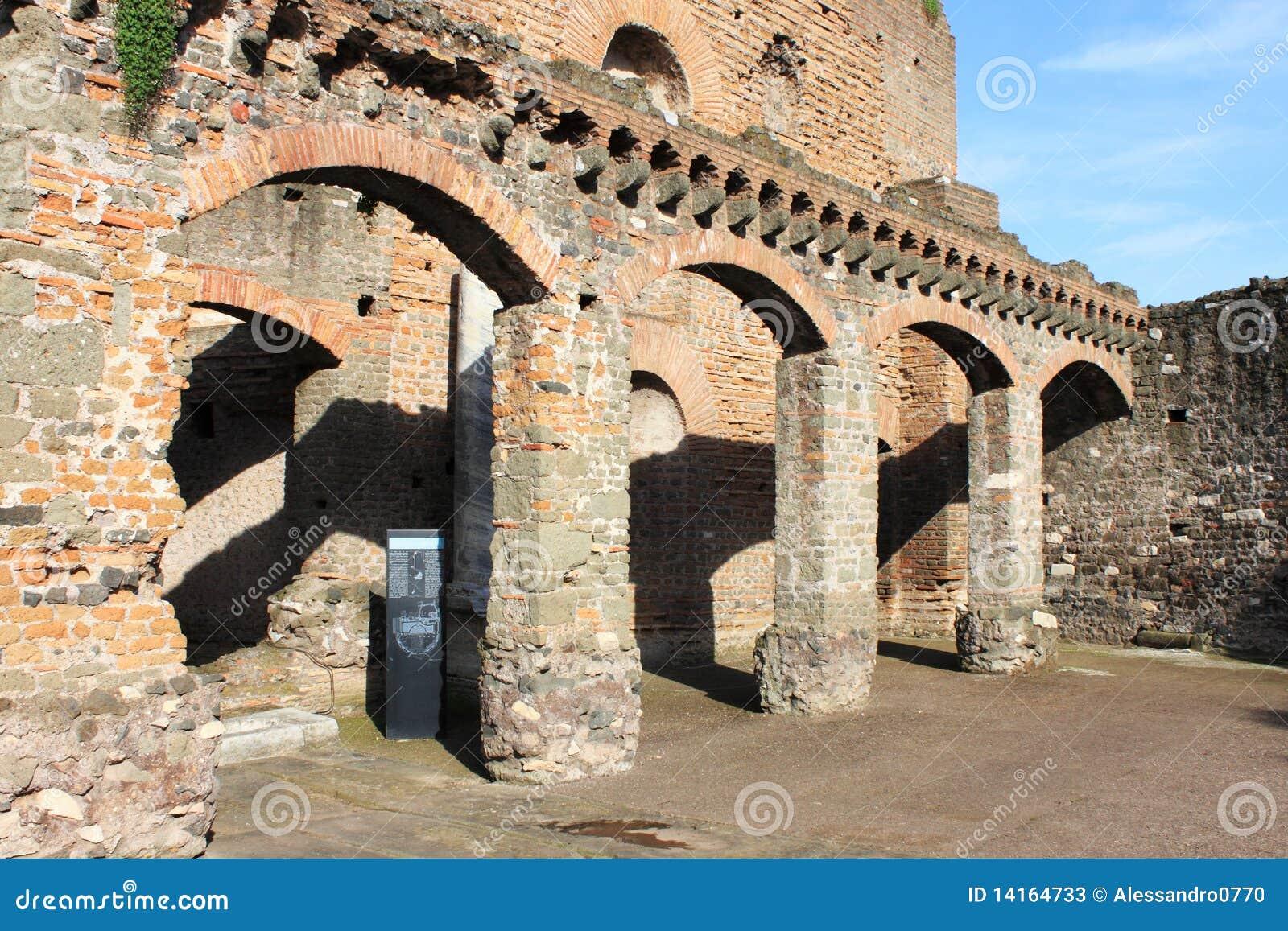 Ancient roman house stock photos image 14164733 - Cuisine de la rome antique ...