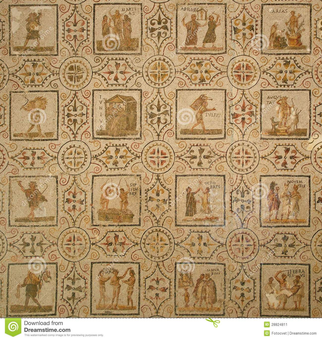 ancient roman calendars Earliest roman calendars had ten lunar months, starting with martius (march), which was the start of the campaigning season and thus sacred to mars, the roman war god origins for the names of.