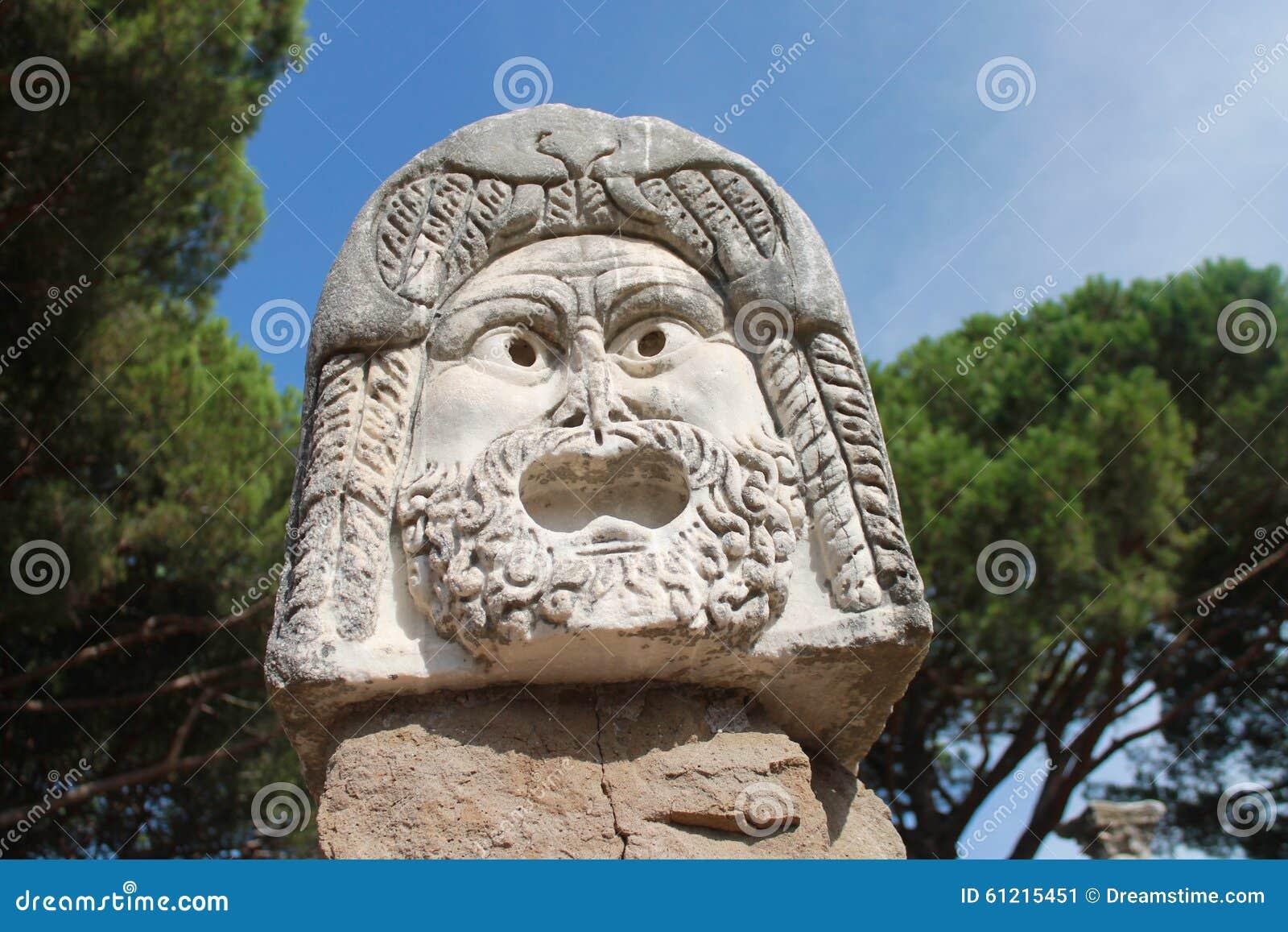 Ancient roman sculpture stock photo image 61215451 for Mr arredamenti ostia antica