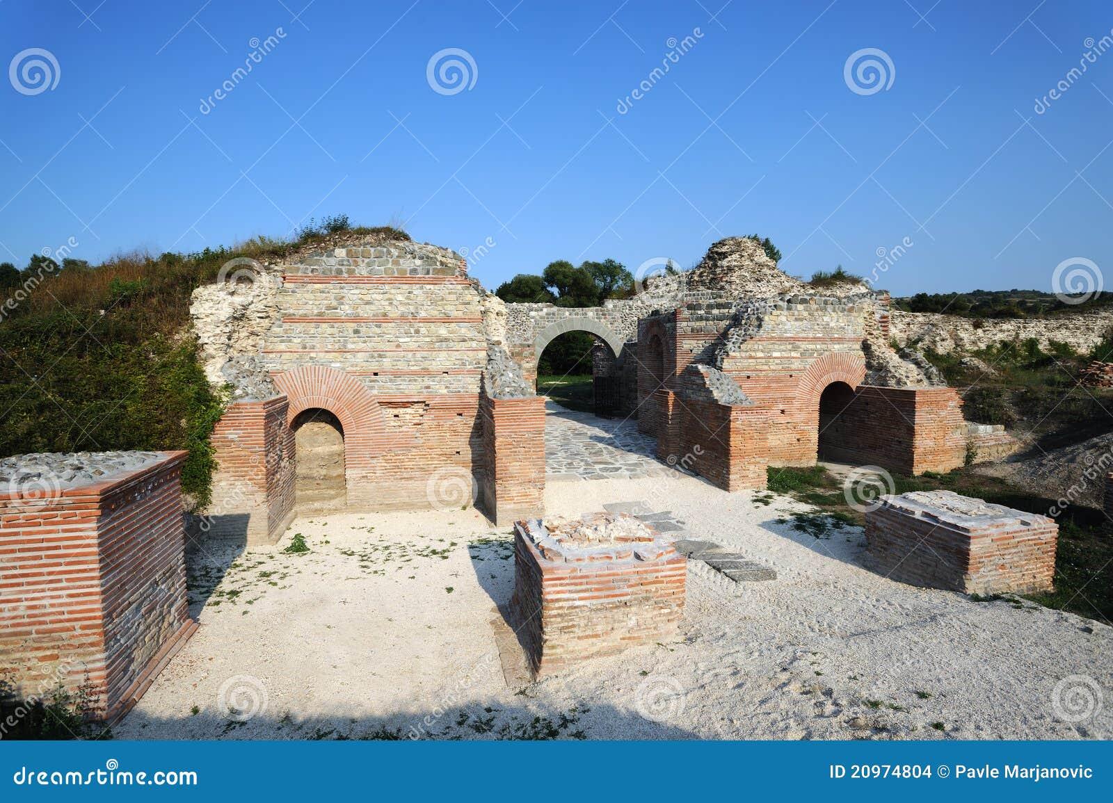 Ancient Roman site Felix Romuliana