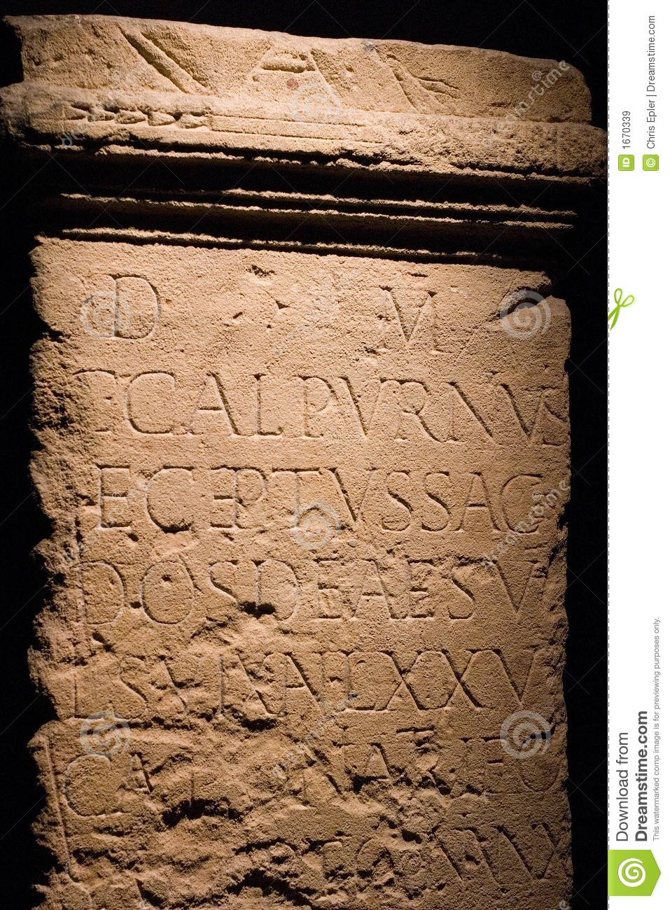 Ancient Roman Writing stock image. Image of tablet, bath ...