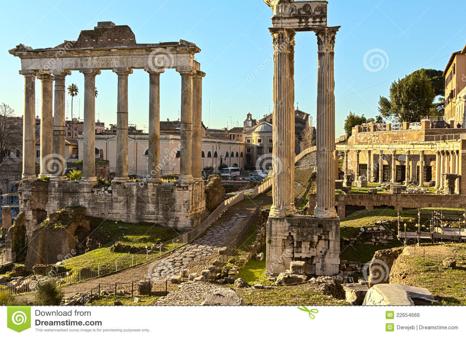 Imágenes de la antigua Roma y Fotos