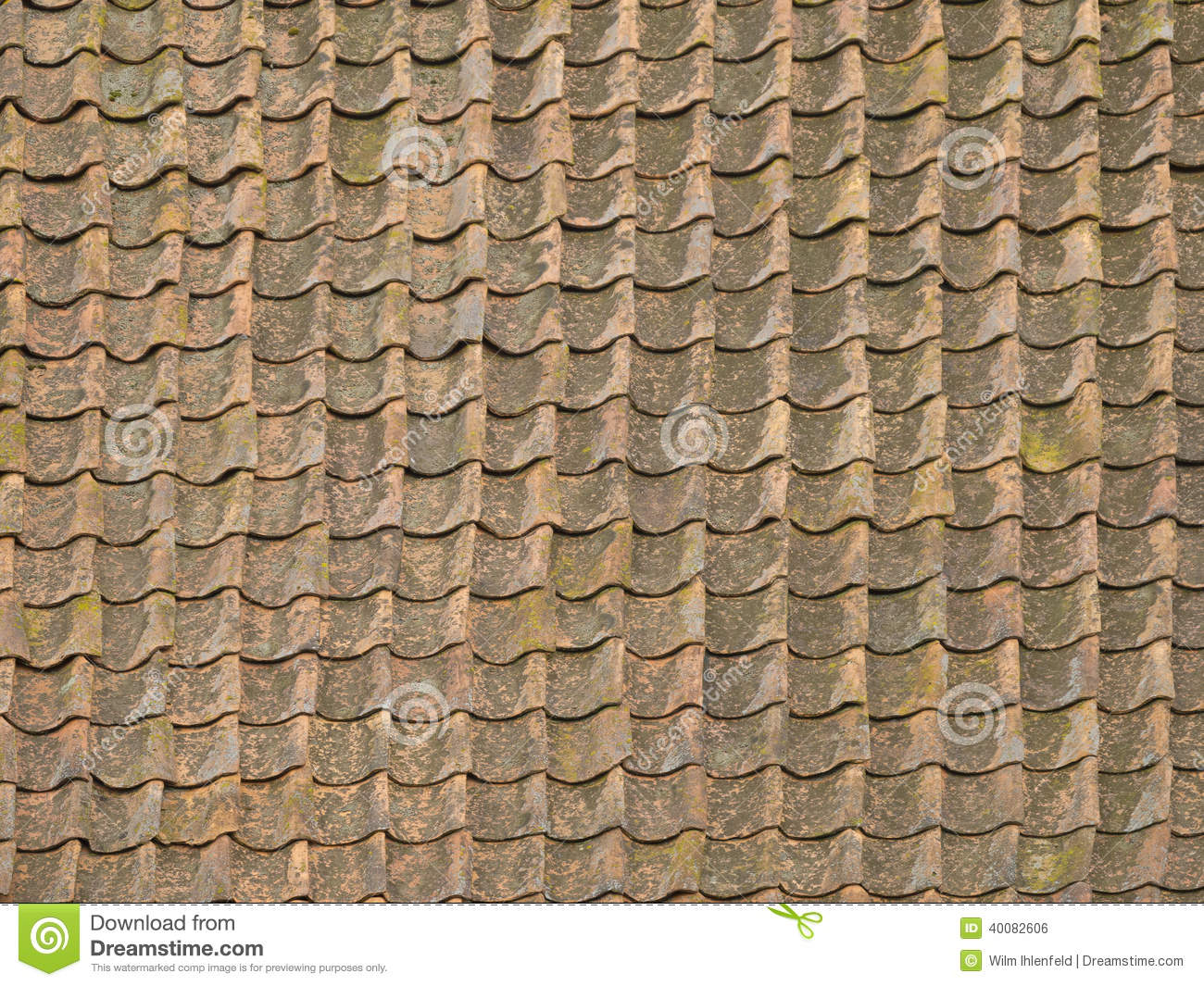 Ancient Roof Tiles Stock Photo Image Of Clay Roof
