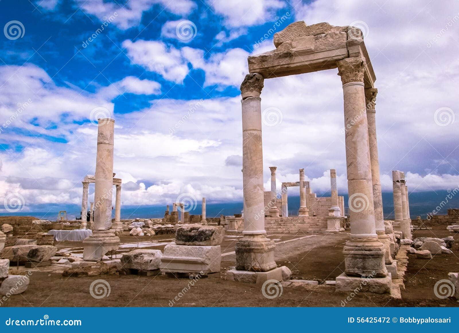 Ancient Ruins Of Laodicea Turkey Stock Photo - Image: 56425472