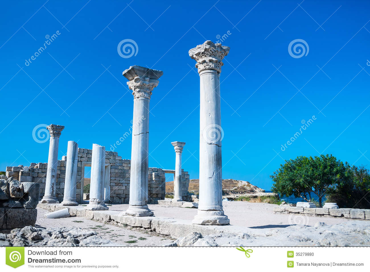 Ancient ruins of the Tauric Chersonese