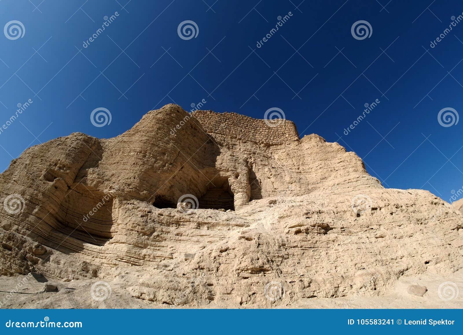 Zohar fortress in Judea desert.