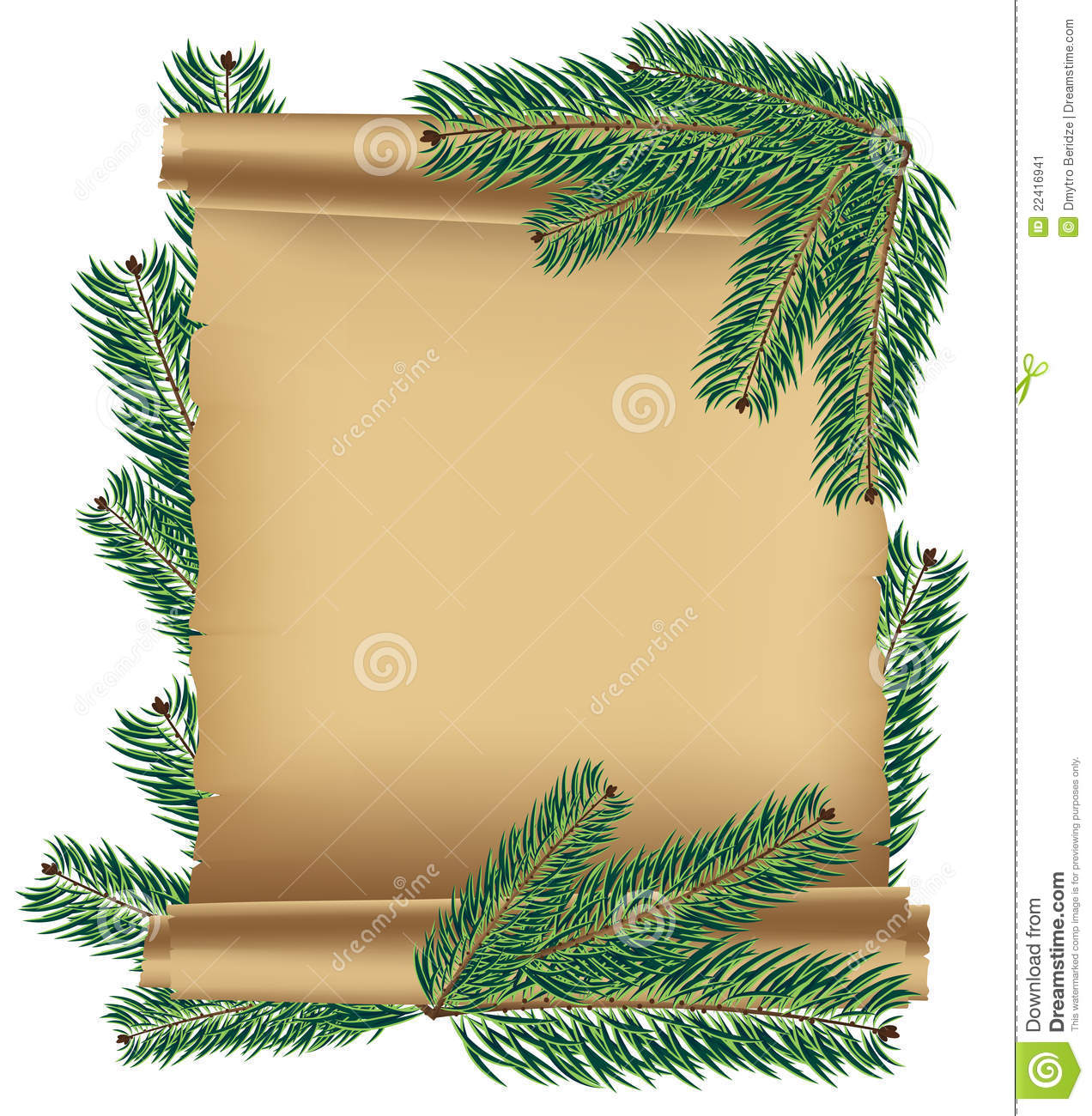 Ancient Scroll: Ancient Scroll Stock Vector. Image Of Blank, Announcement