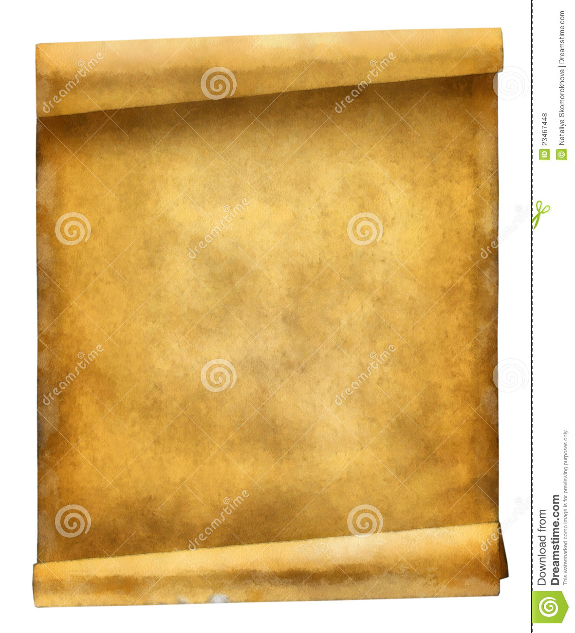 Ancient Scroll: Ancient Scroll Royalty Free Stock Photos