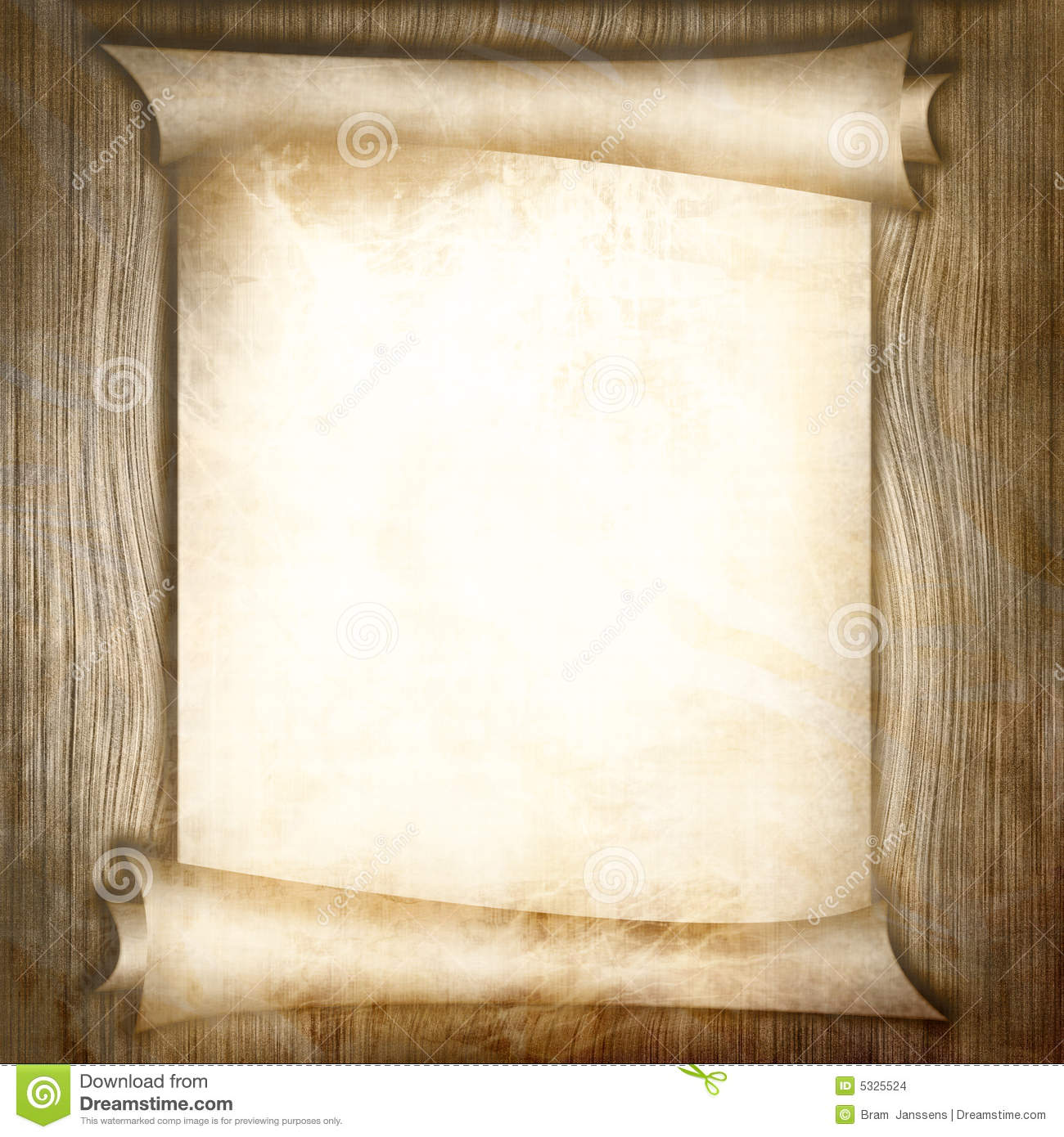 Ancient Scroll: Ancient Scroll Stock Images