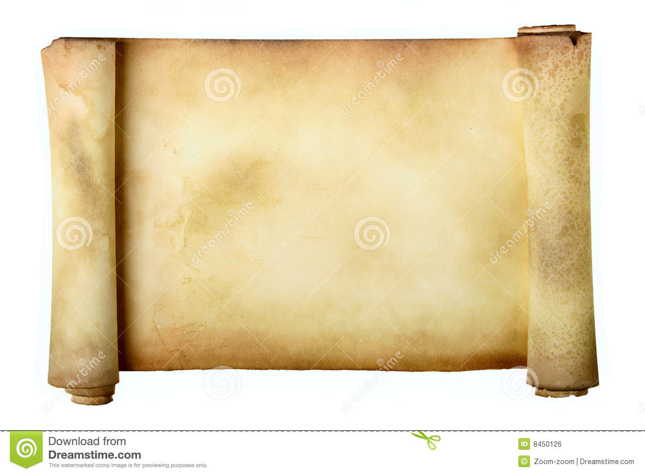 how to make an old scroll
