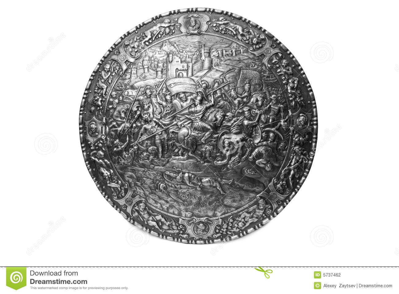 ancient shield stock photo image of antiquities ages