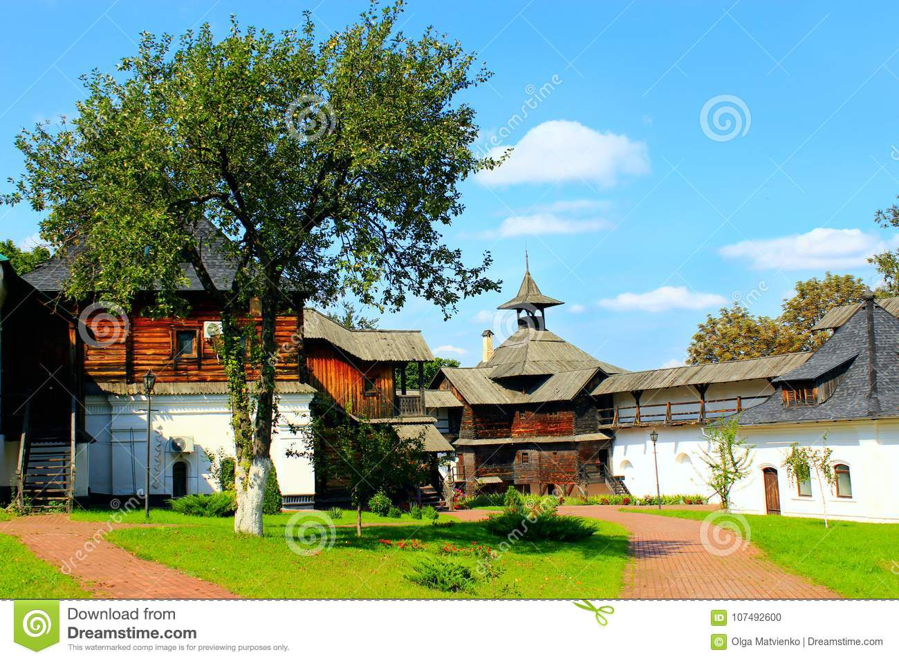 Ancient Slavonic fortress in Novhorod-Siverskii