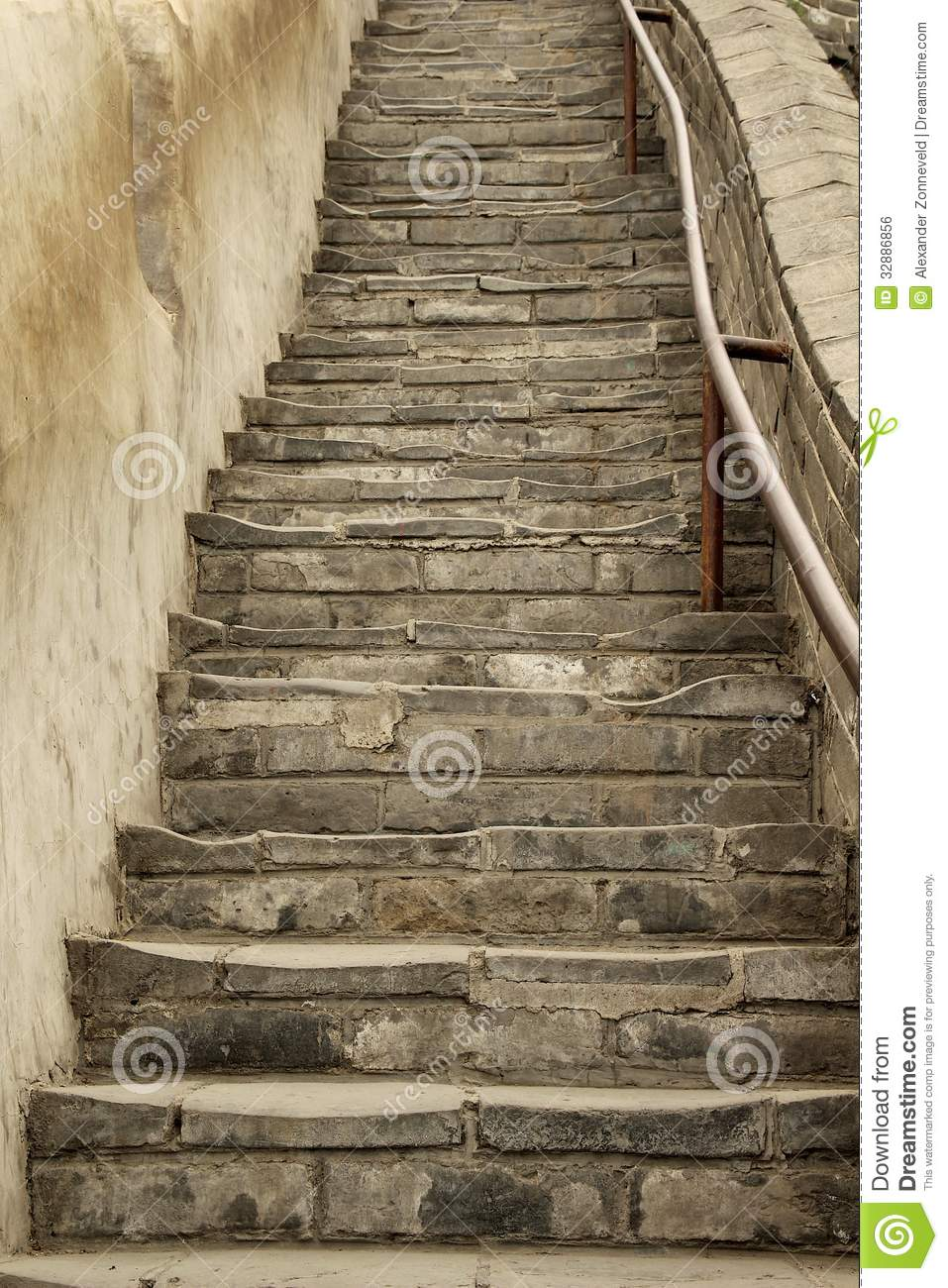 Ancient Stairs Stock Photo Image Of Green Mystic