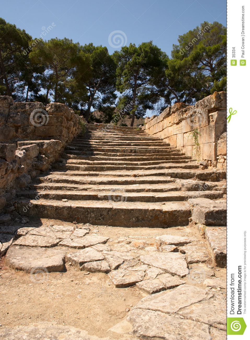 Ancient steps
