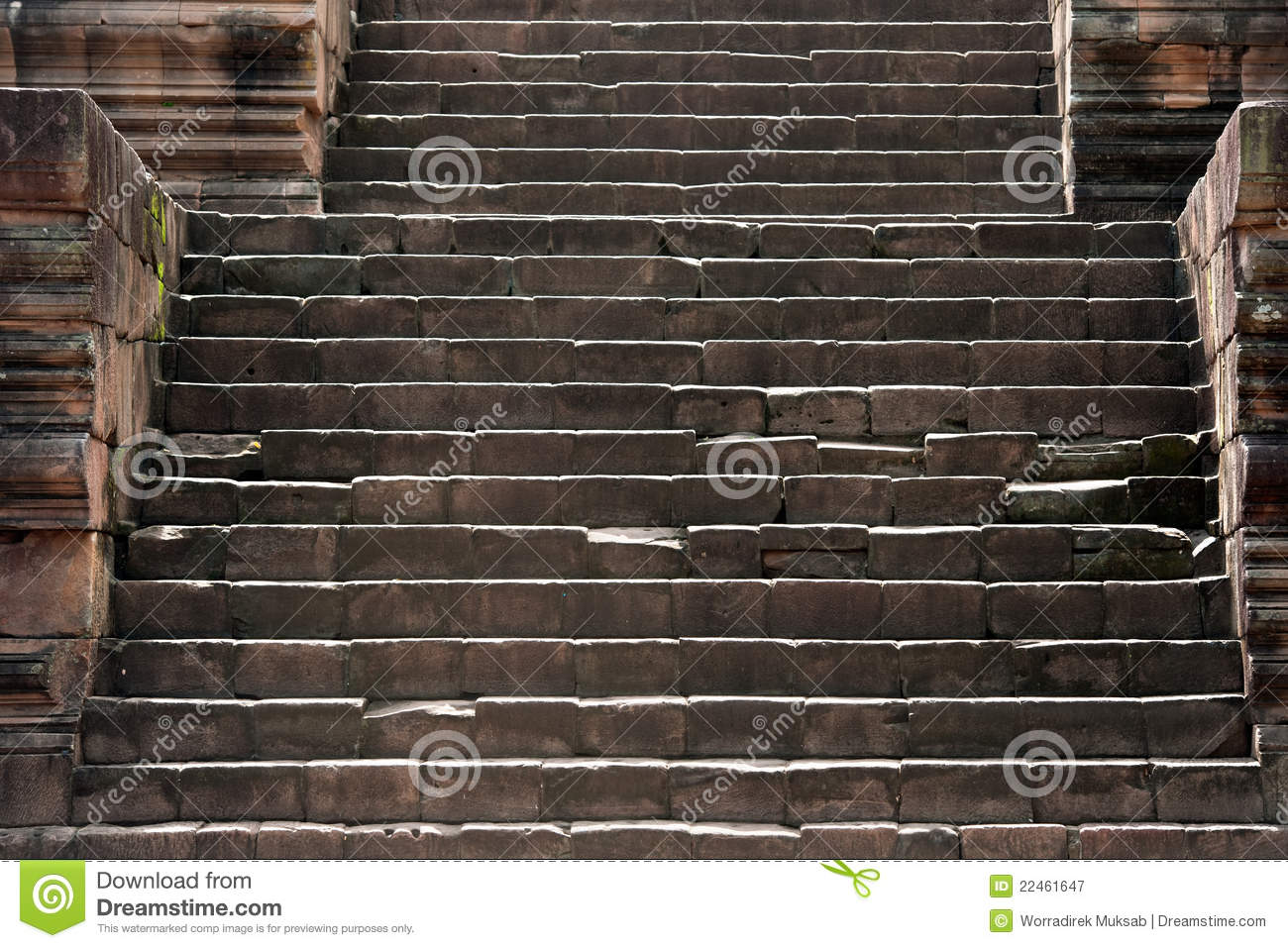 Ancient Stone Stairs Stock Image Image Of Brown Castle