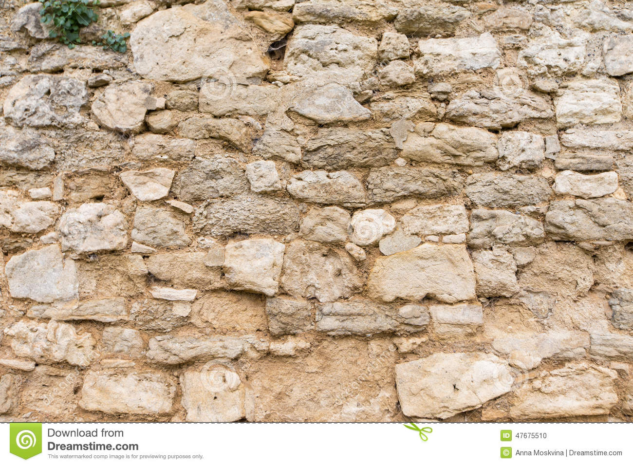 Ancient Stone Wall : Ancient stone wall background stock photo image