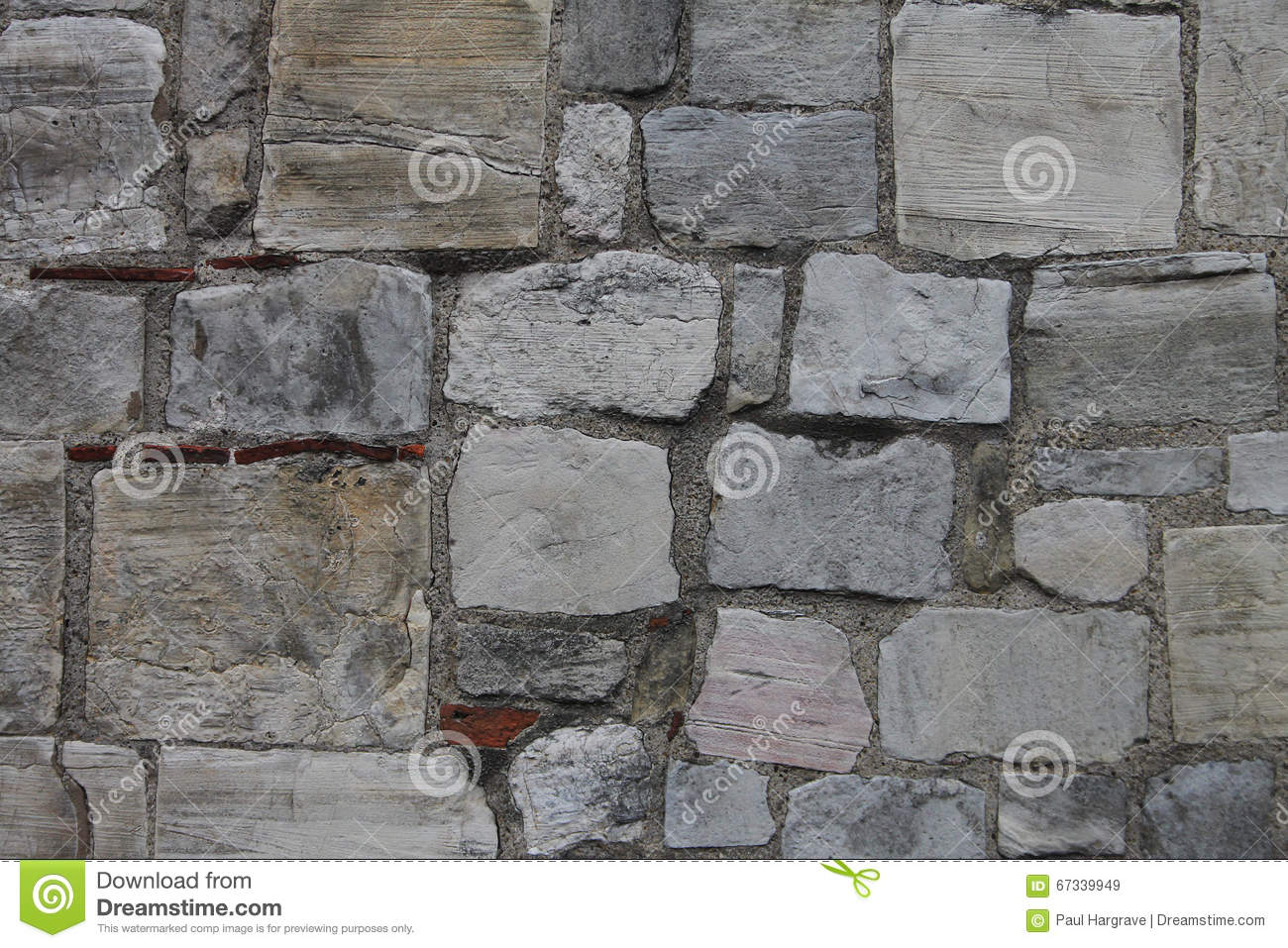 Ancient Castle Stone Wall Rampart Texture Royalty-Free ...