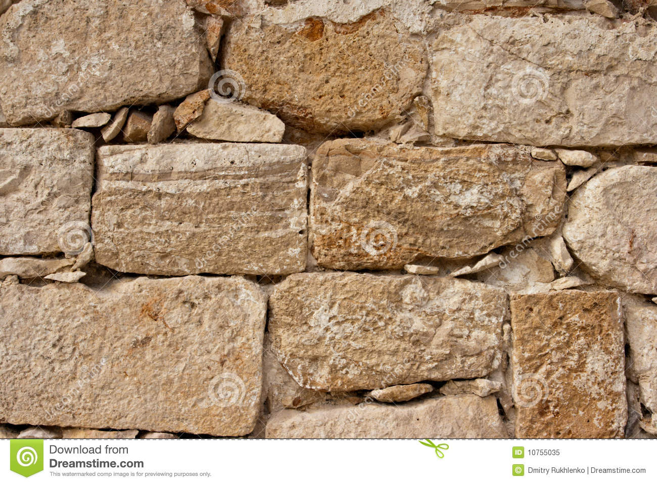 Ancient Stone Wall : Ancient stone wall texture stock image of antique