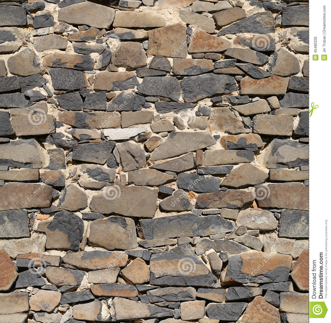 Stone Wall Pattern : Ancient stone wall wallpaper background stock image