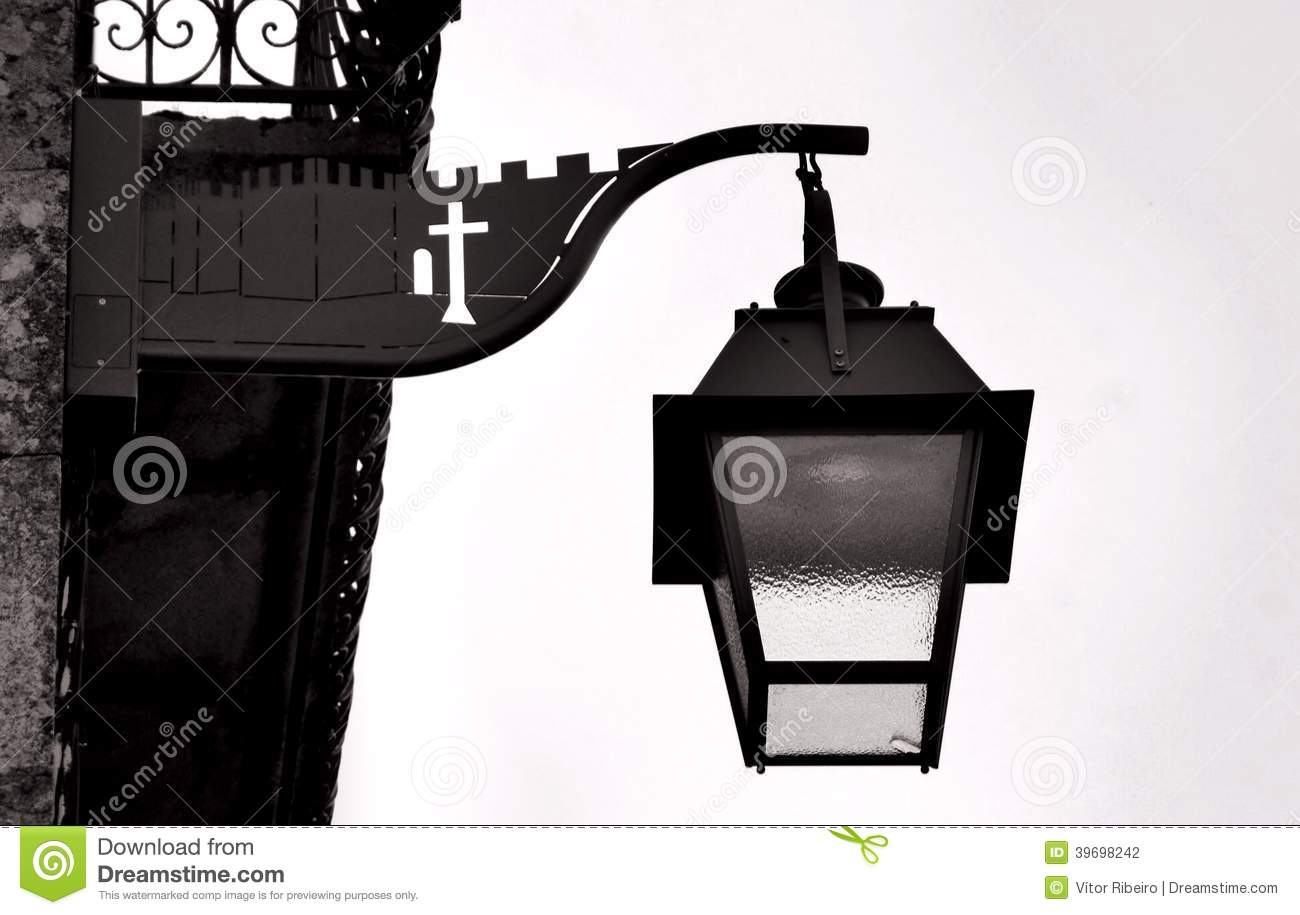 Download Ancient streetlight stock photo. Image of town, vacation - 39698242