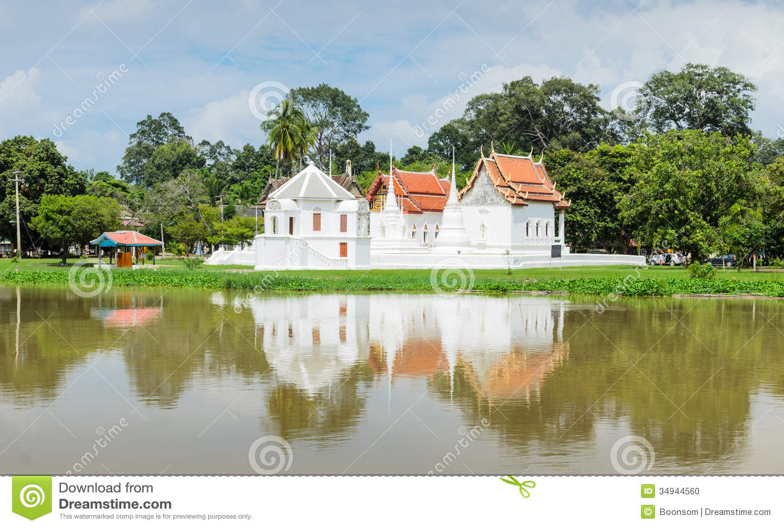 Uthai Thani Thailand  city photos : Ancient Thai temple of Wat Uposatharam in Uthai Thani, Thailand.