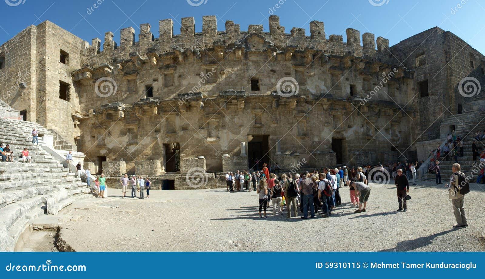 ancient theatre of Aspendos