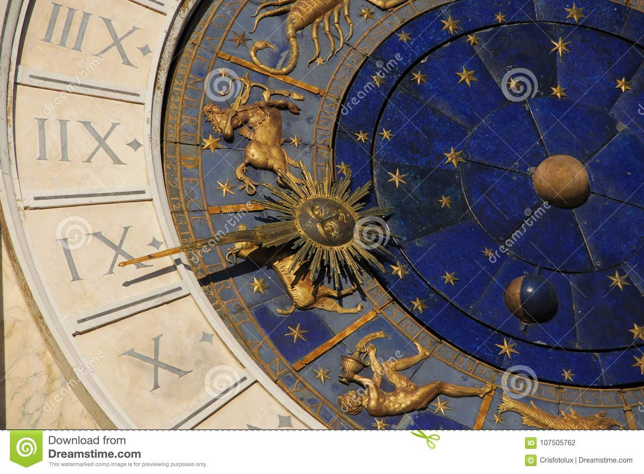 Ancient Time, Astrology And Horoscope Stock Photo - Image of centaur