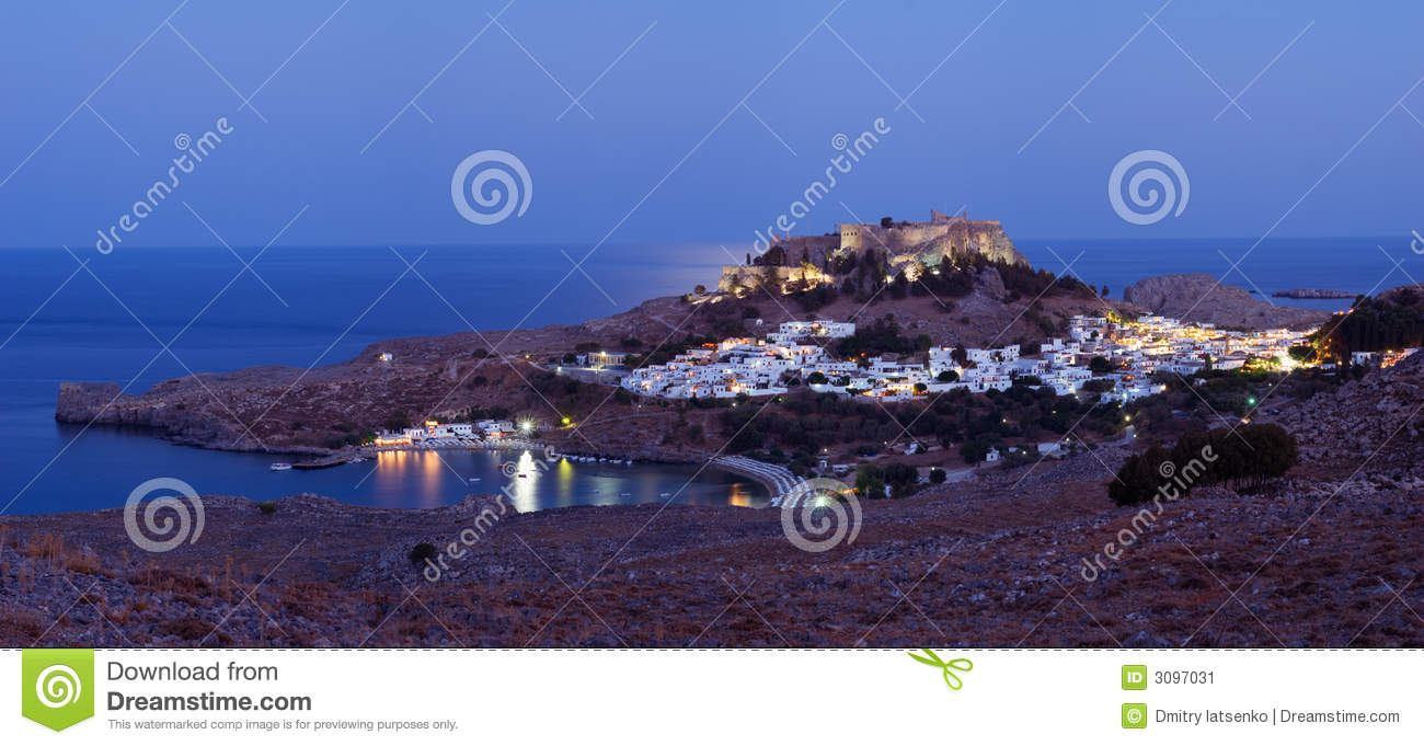 Ancient town Lindos