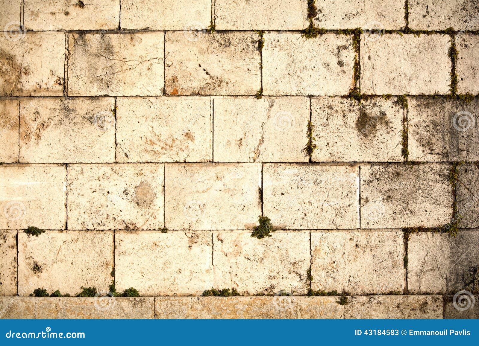 Ancient Stone Wall : Ancient wall stock photo image