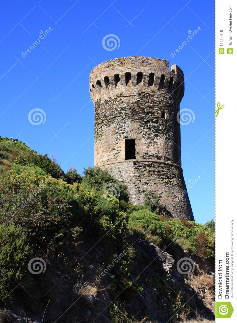 Ancient Watchtower Royalty Free Stock Photos Image 16224418