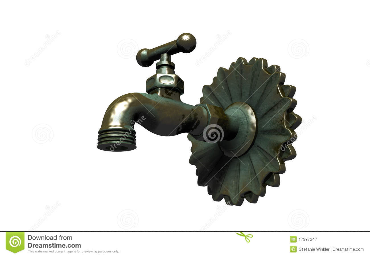 Ancient water tap