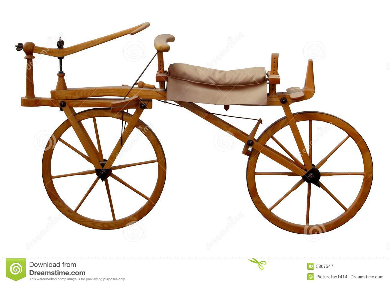 Ancient Wooden Bike Photography