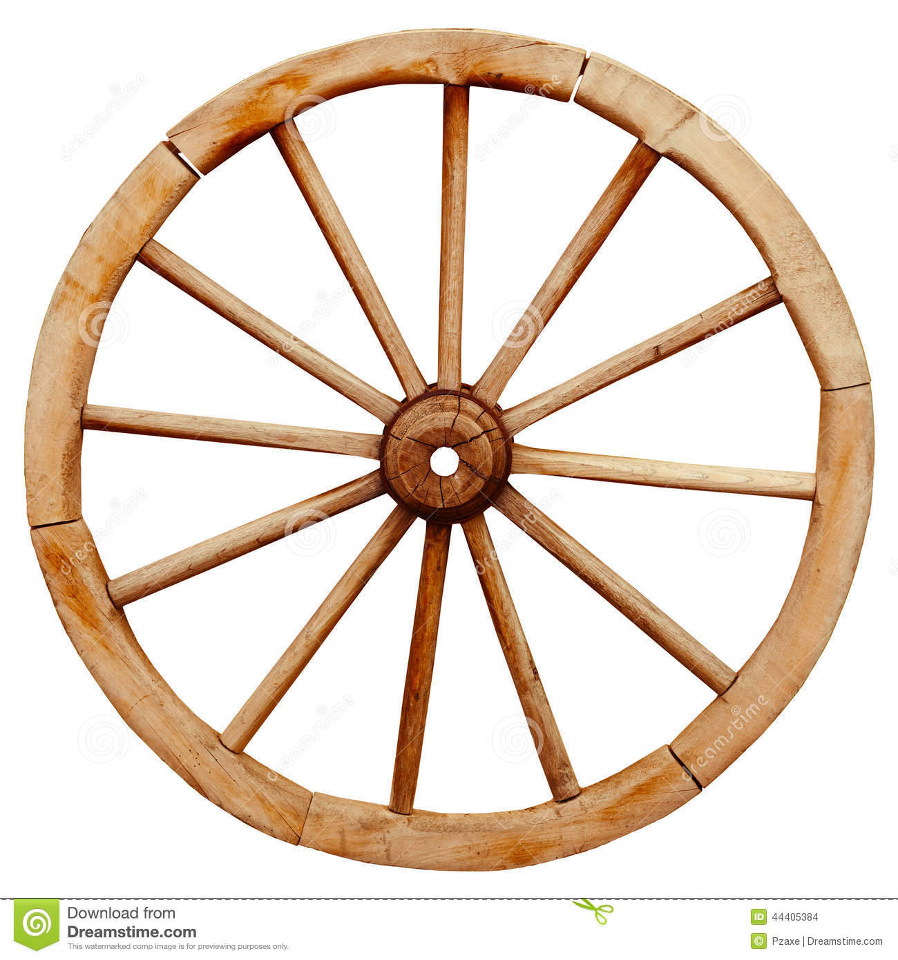 Ancient wooden grunge wagon wheel in country style - Ruedas para carro ...