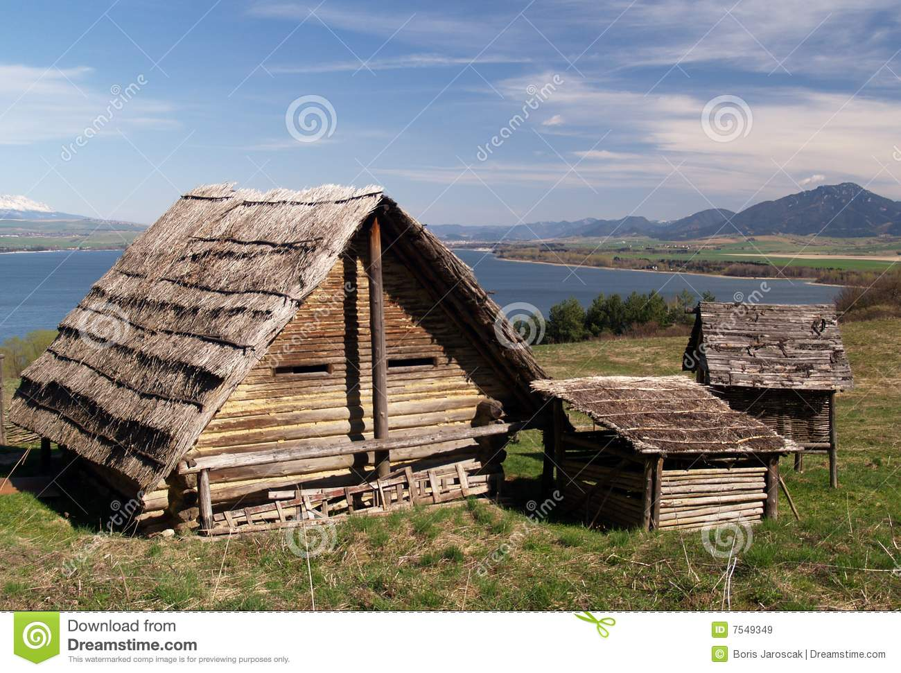 Ancient wooden houses