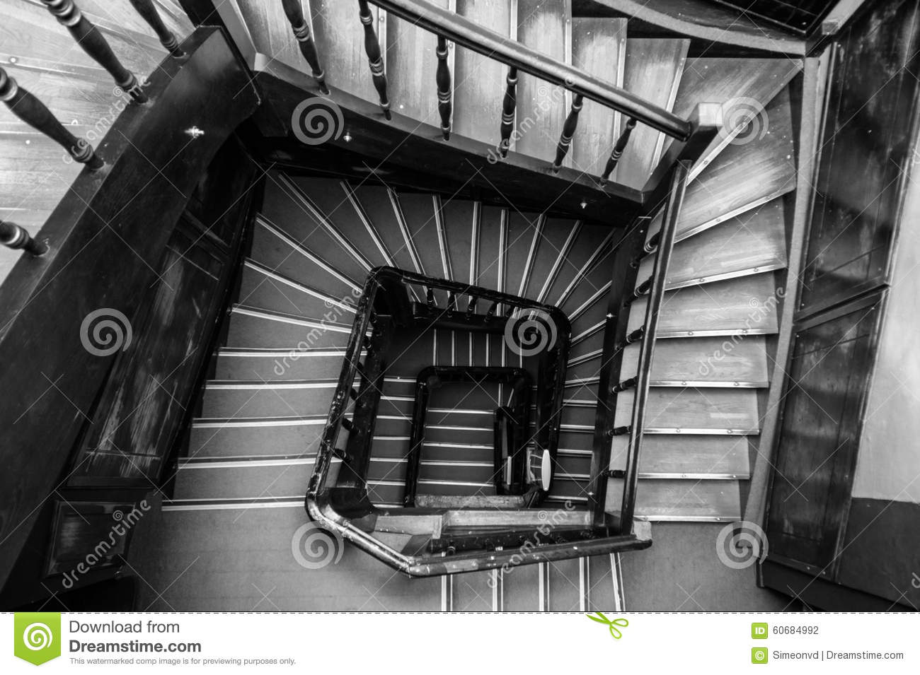 Ancient staircase stock photo 38473584 for Spiral staircase square