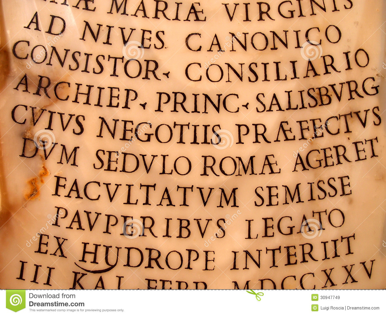 Ancient Writing Royalty Free Stock Images - Image: 30947749