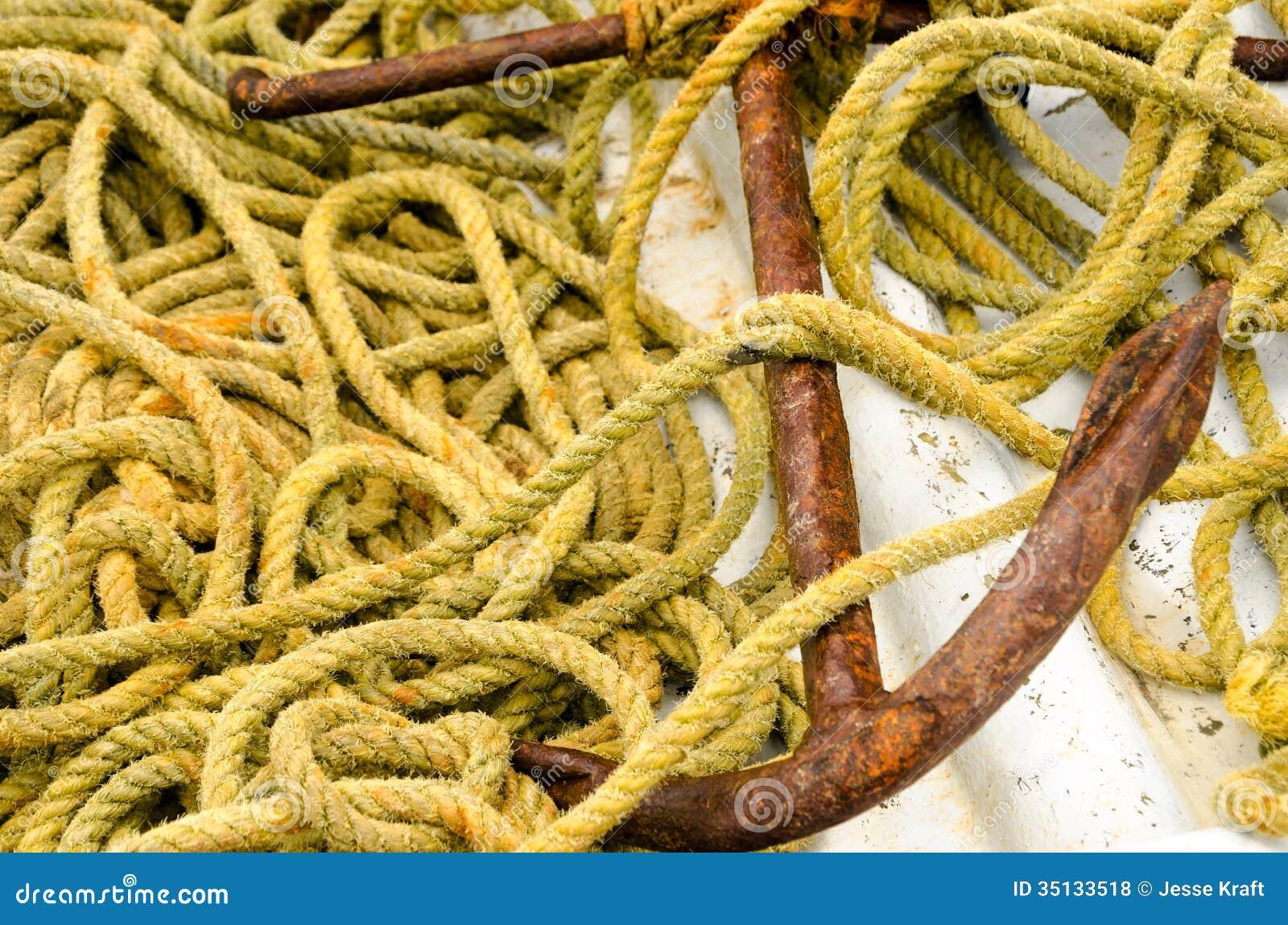 Ancla y cuerda