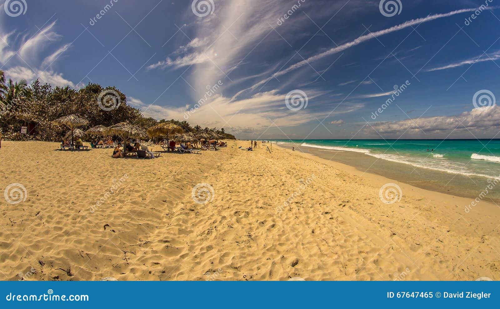 Ancon de la playa en Trinidad, Cuba