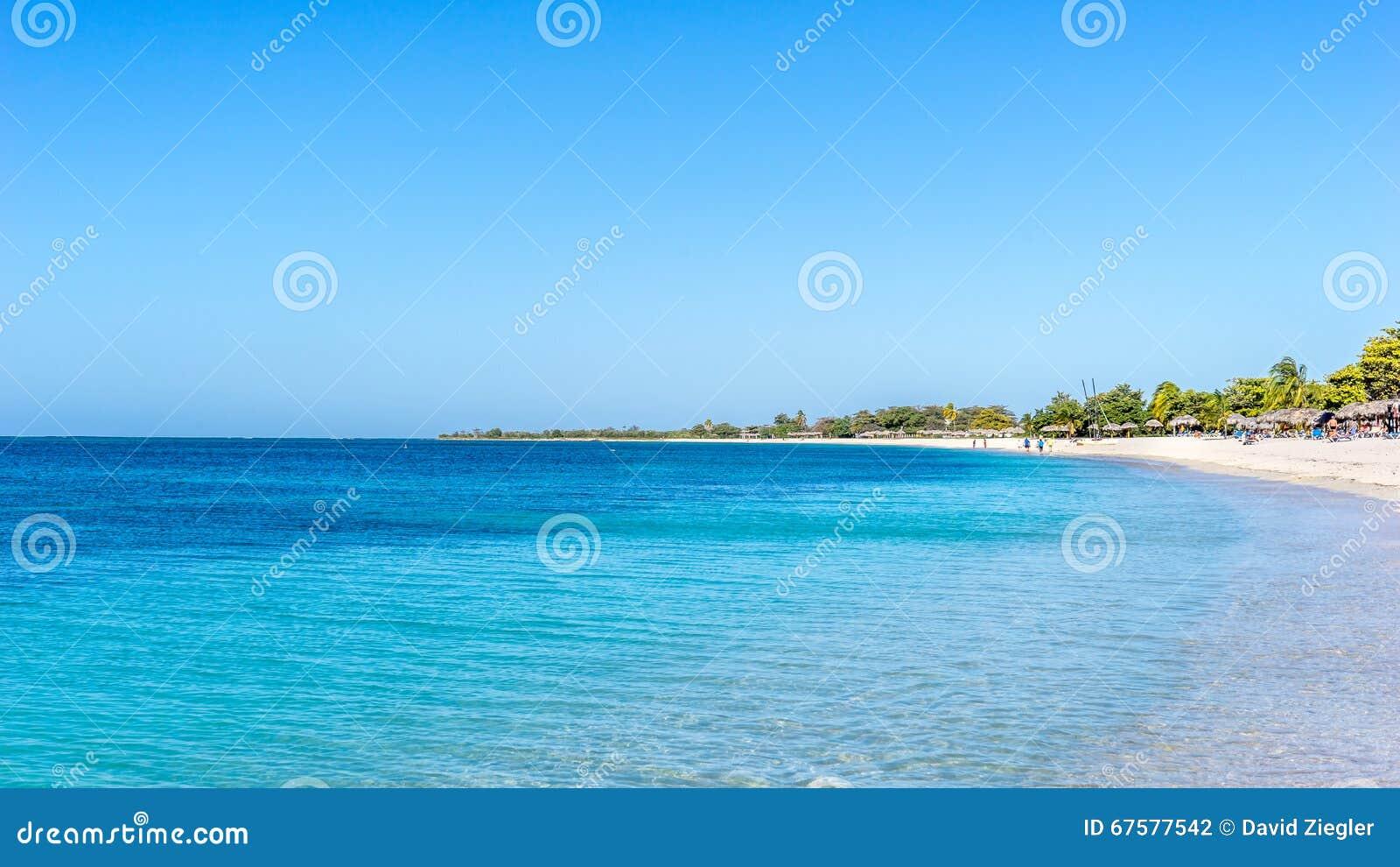 Ancon de plage au Trinidad, Cuba