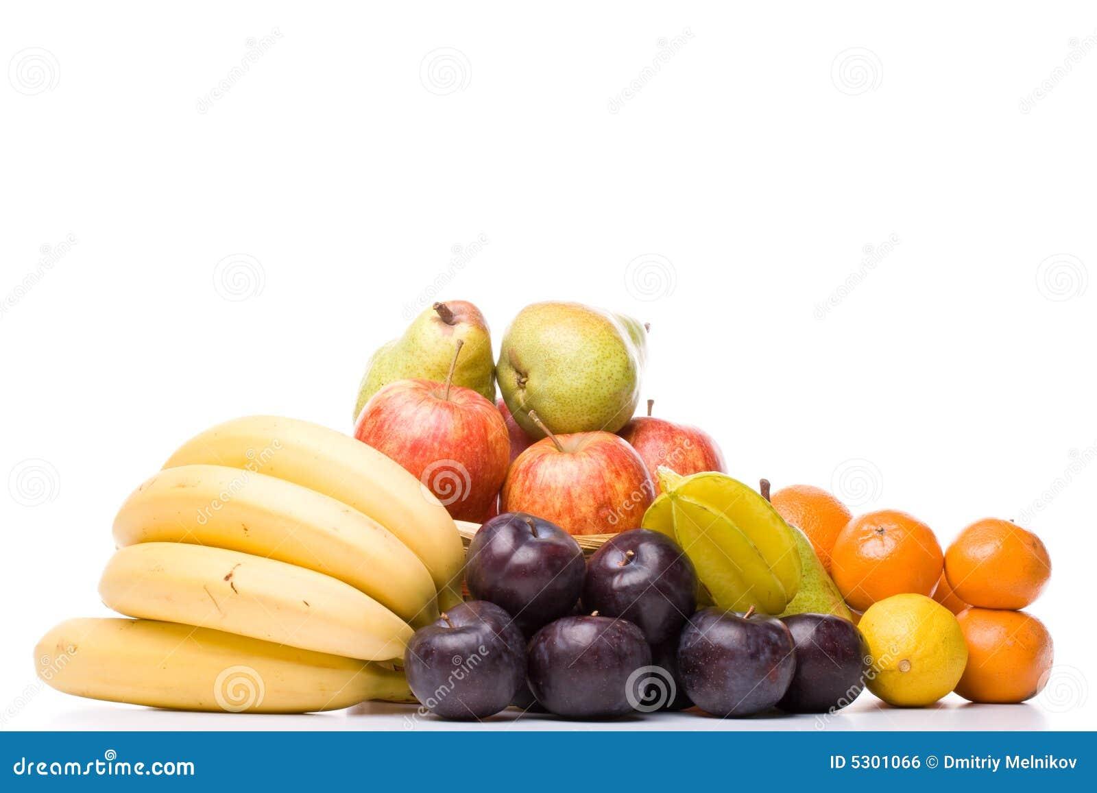 Download Ancora vita con la frutta fotografia stock. Immagine di dietetico - 5301066