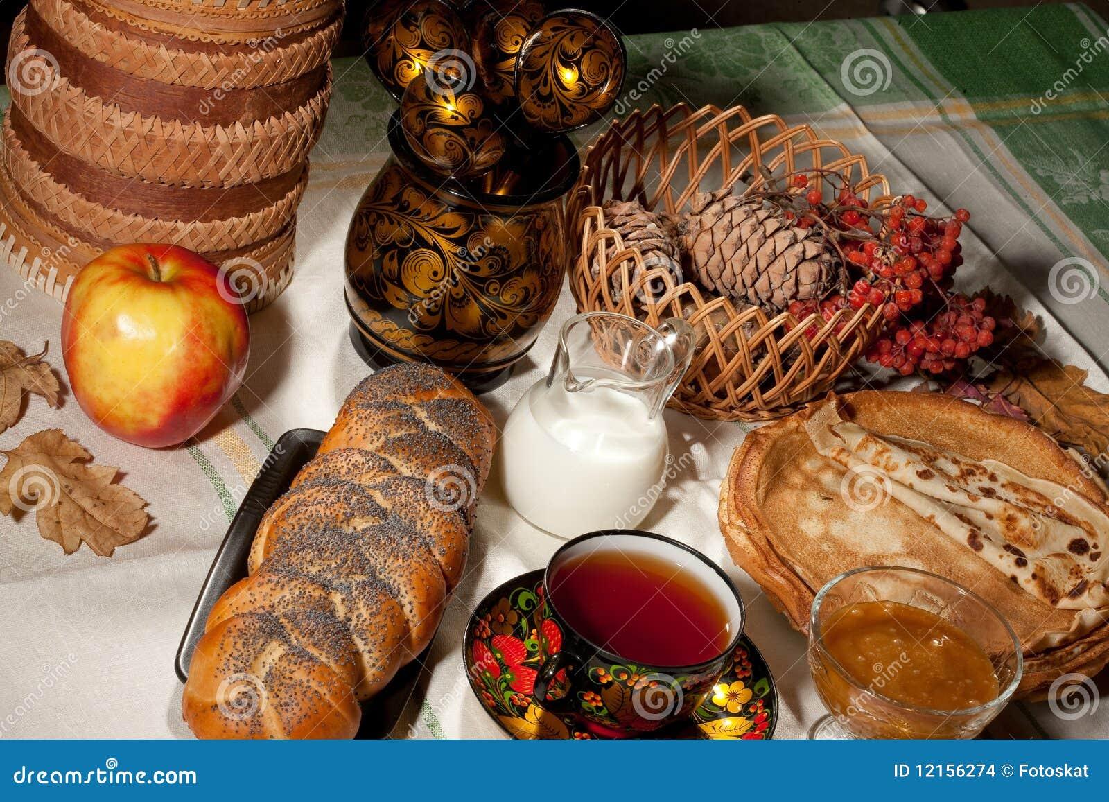 Ancora vita con pane ed Apple