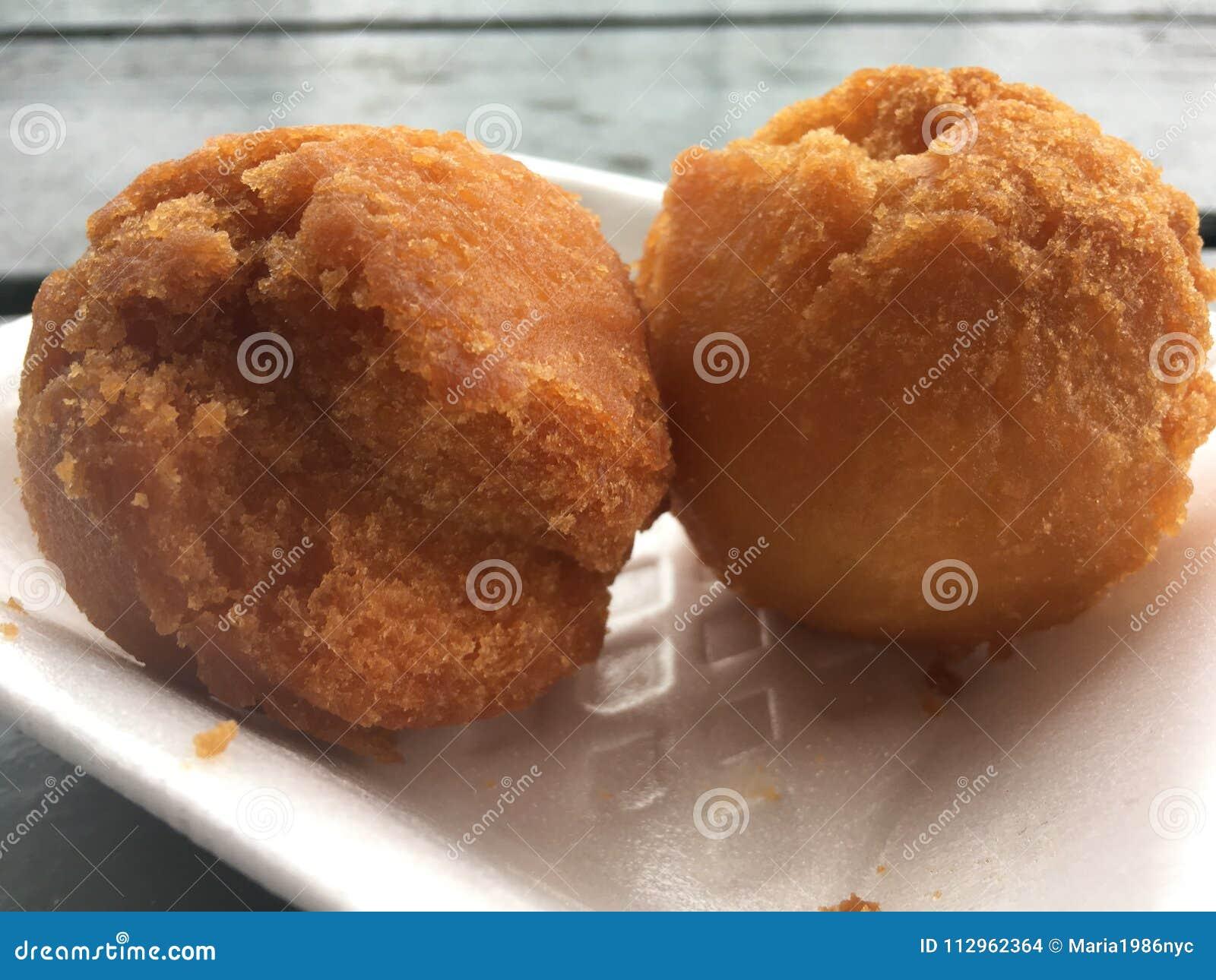 Andagi, Okinawa Donuts em Kekaha na ilha de Kauai, Havaí