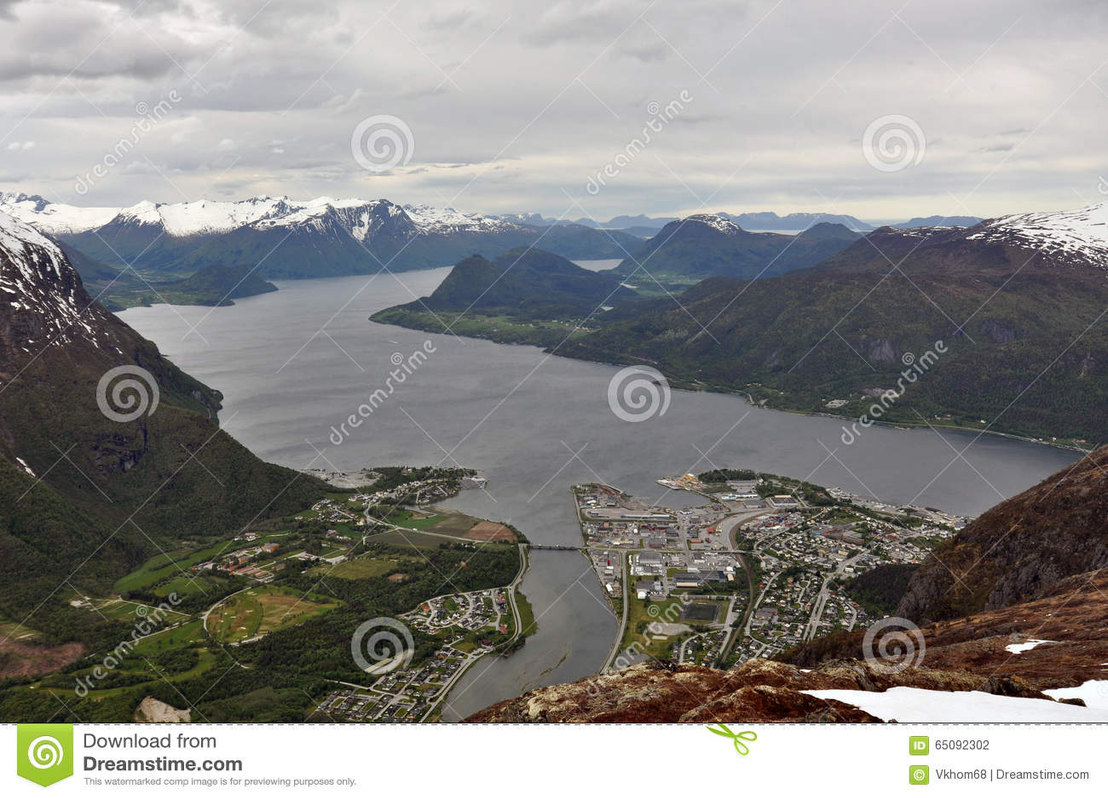 Andalsnes,挪威